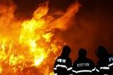 Požár po nehodě  v Bocanovicích způsobil škodu za 13 milionů korun