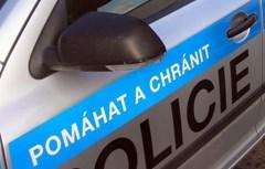 Patrně opilý řidič nerespektoval dopravní značení, ujížděl policejní hlídce a nakonec se zamkl ve vozidle