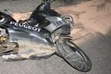 Nehoda motocyklistky na Novojičínsku