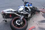 Havárie motocyklu u Starých Hutí, řidič nehodu nepřežil