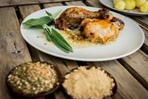 Kuře pečené po Italsku