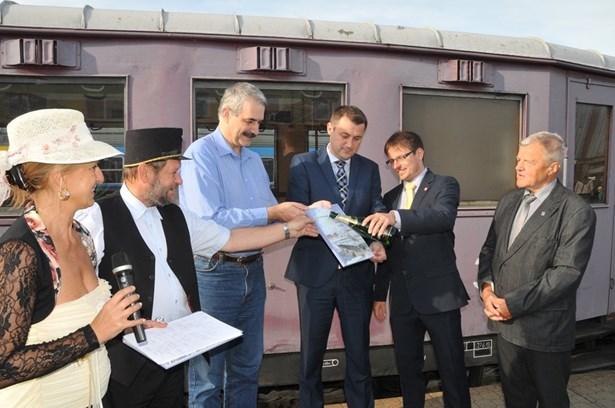 Popis: První zářijový víkend v Turnově byl ve znamení oslav železnice.