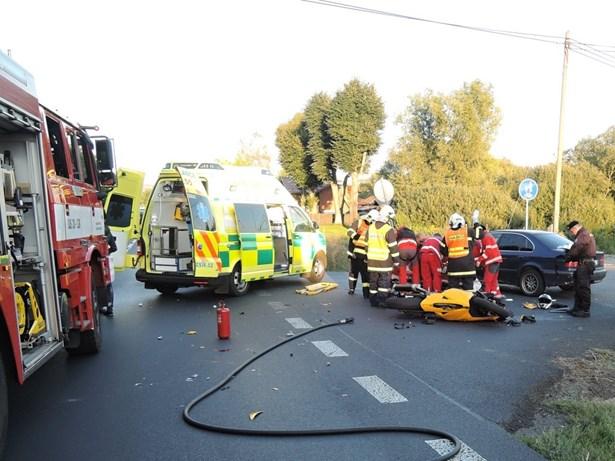 Popis: Dopravní nehoda v části obce Stará Lípa.