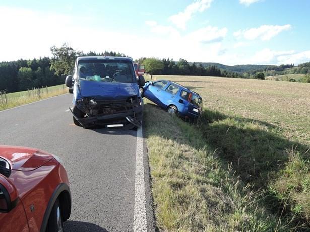 Popis: Dopravní nehoda Tuhaň.