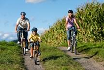 Až do září můžete využívat pět linek cyklobusů v Českomoravském pomezí
