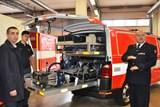 Na nákup nové techniky přispělo hasičům i město Litoměřice