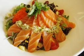 """Norský losos jedovaté pesticidy neobsahuje, ale """"prošel liposukcí"""""""