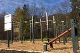 I ve Frenštátě pod Radhoštěm si lidé zacvičí venku - workoutové hřiště dokončeno