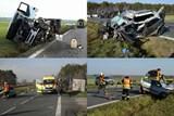 Smrtelná nehoda zastavila provoz u Vracova
