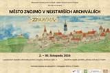 Výstava Město Znojmo v nejstarších archiváliích i 17. listopadu