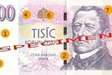 Pozor na padělané bankovky