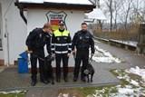 Valašskomeziříčským strážníkům nově pomáhají dva služební psi