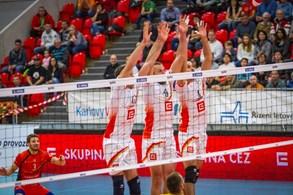 Karlovarsko jde dál volejbalovou Evropou