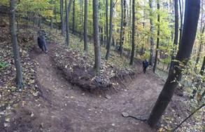 Singletrack a kyslíková cesta Mihaľov - Bardejov jsou před dokončením