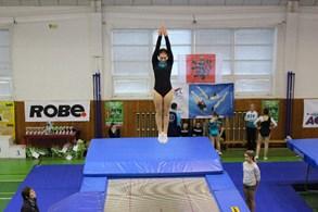 Rožnovští trampolinisté získali devět medailí