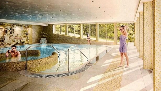 Popis: Takto by měl nový bazén vypadat.