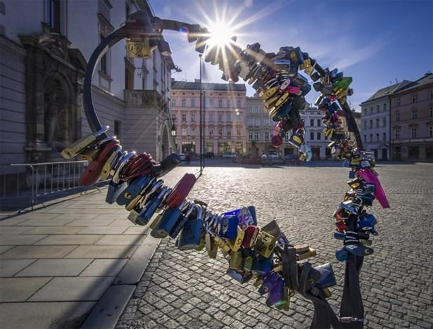 Popis: Olomoucké srdce.
