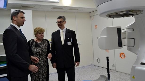 Popis: Nemocnice dokončila modernizaci komplexního onkologického centra.