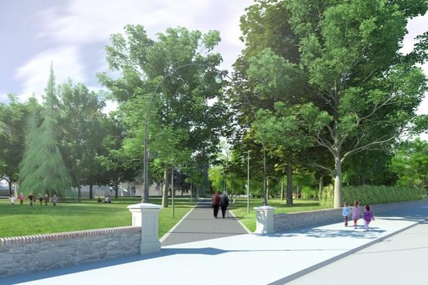 Popis: Vizualizace, jak bude park po revitalizaci vypadat.
