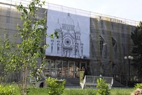 V Krom��� je k vid�n� synagoga, kterou za v�lky zbo�ili nacist�