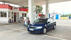 V�tkovice Machinery Group otev�ely CNG plni�ku na hlavn�m tahu z Ostravy do Beskyd