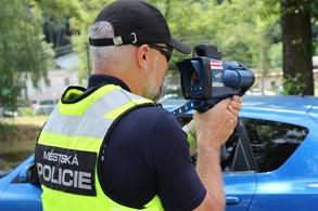 Strážníci ve Frýdku-Místku začali měřit rychlost