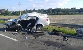 Tragick� dopravn� nehoda na P�erovsku