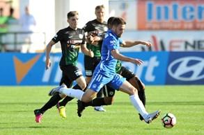 Slovan vybojoval v P��brami prvn� ligovou v�hru v sezon�