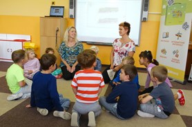 Neziskov� organizace EDULAB otev�ela v Mate�sk� �kole v �esk� L�p� Metodick� centrum pro p�ed�koln� vzd�l�v�n�
