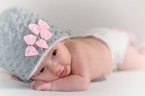 Novorozená holčička v babyboxu Slezské nemocnice