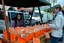 Farmářský trh přilákal mnoho návštěvníků