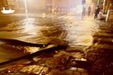 Po masivním úniku vody je uzavřena ulice Kotlářská v Brně