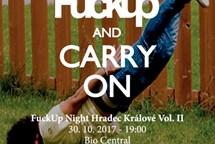 Na druhé hradecké FuckUp Night opět zazní životní průšvihy a neúspěchy