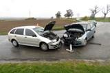Dopravní nehoda s lehkým zraněním