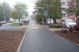 V olomoucké Jílové ulici slouží nová stezka pro chodce a cyklisty