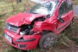 Při dopravní nehodě byly zraněny dvě osoby