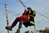 Záchrana osoby z anténního stožáru prověřila činnost lezců liberecké stanice