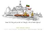Kalendář Vysokého Mýta na rok 2018 s humorem a nadhledem