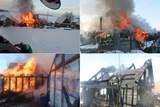 Závada na komínu způsobila požár chatky