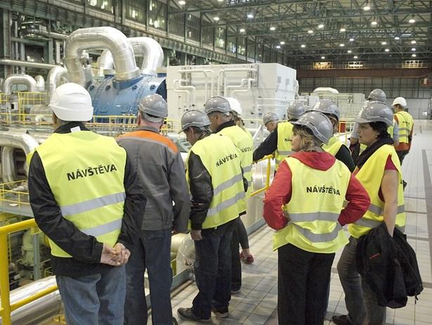 Popis: Jedna z exkurzí v Elektrárně Tušimice.