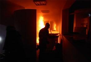 Hasiči v Brně cvičili v reálných podmínkách