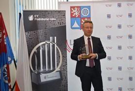 Titul EY Podnikatel roku 2016 Libereckého kraje získal Jiří Opočenský
