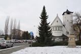 Okolí evangelického kostela v Přerově čekají úpravy - parkoviště, chodníků, zeleně i mobiliáře
