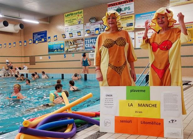 Popis: Loňský první ročník akce přinesl nejen příjemné chvíle spojené s plaváním, ale také spoustu zábavy a doprovodného cvičení.