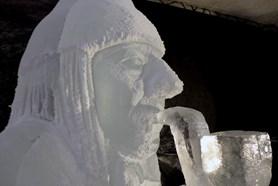 Pustevny opět rozzářila galerie ledových soch