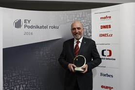 Titul dvanáctého EY Podnikatele roku Moravskoslezského kraje získal Jan Hasík
