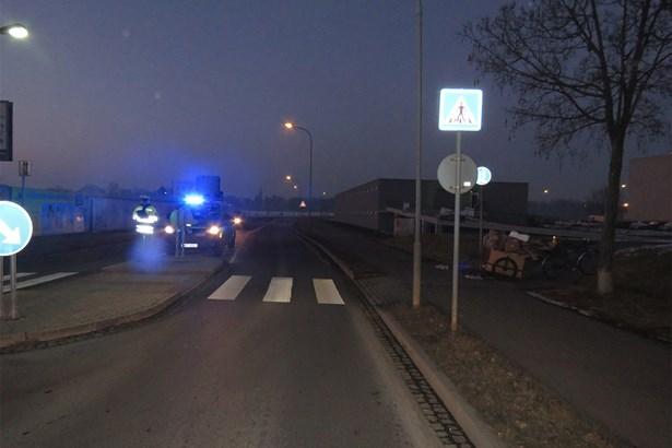 Popis: Havárie třiatřicetiletého cyklisty v ulici Josefa Lady.