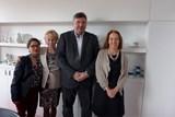 Karlovy Vary navštívila zástupkyně Velvyslanectví USA v České republice