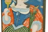 Podmalby na skle v Městském muzeu ve Skutči
