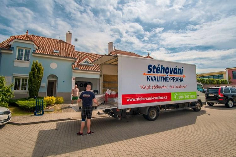 Stěhování kvalitně je záruka spokojeného stěhování